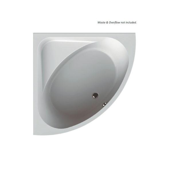 Acrylic bathtub - inset