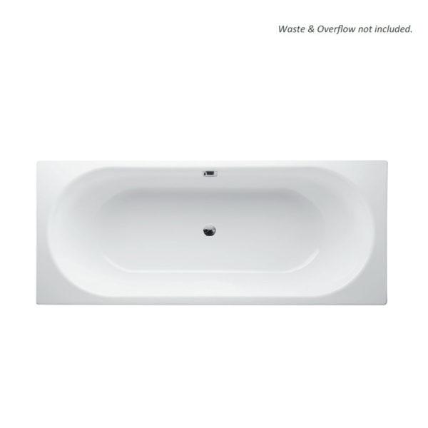 Steel bathtub - inset