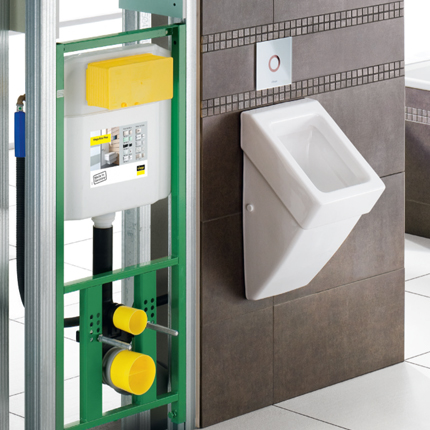 Concealed Cistern & Actuation Collection