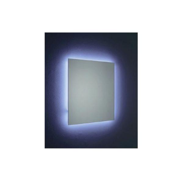 Backlit LED mirror