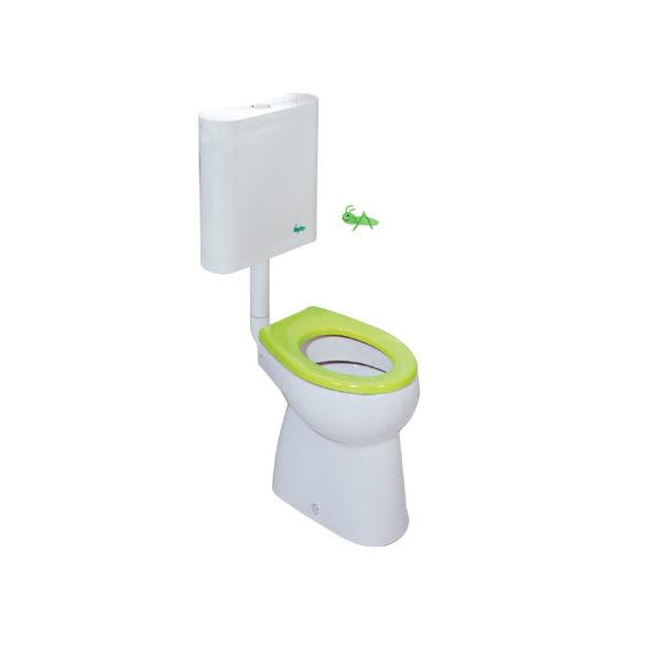 Wash-down WC