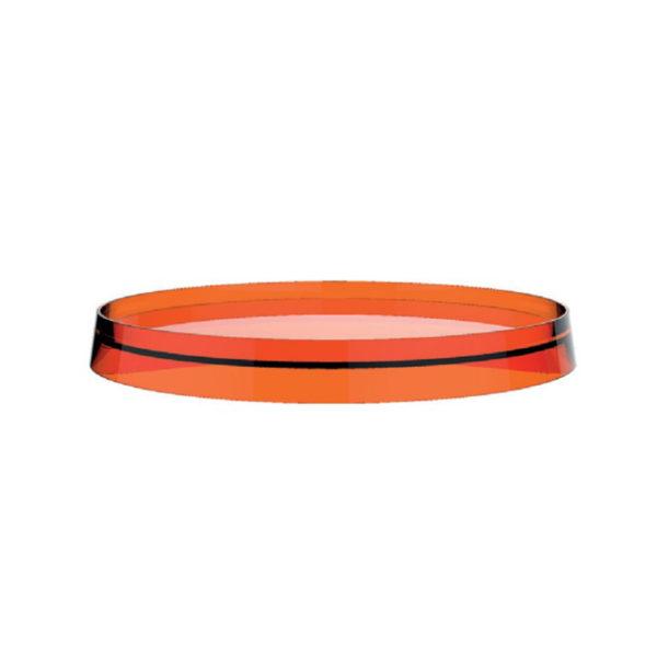 Plastic disc round