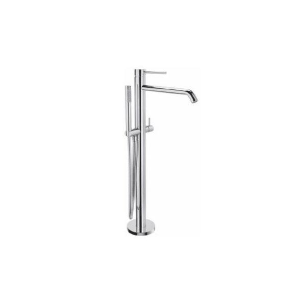 Floor standing bath/shower mixer