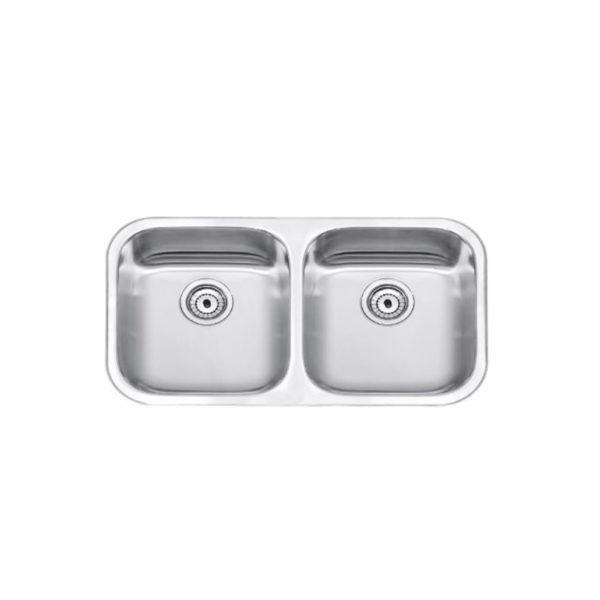 Undermount - sink 2 bowl