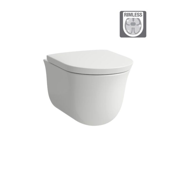 WC-Wall hung Rimless